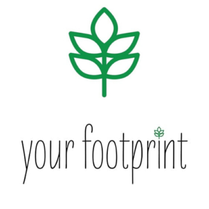 Logo - Your Footprint - White BG