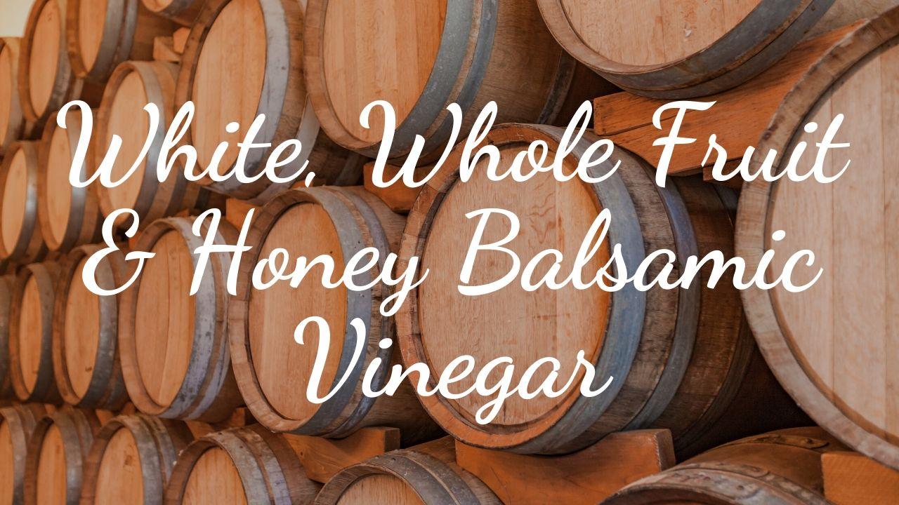 white whole fruit honey light